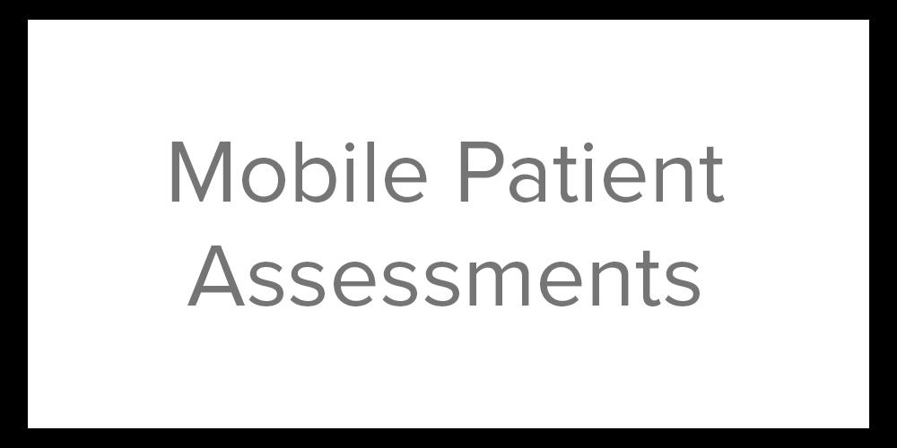 STM button 2 mobile patient assessments