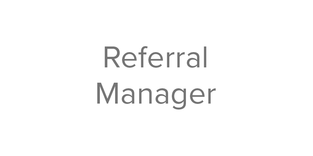 STM button 2 referral manager