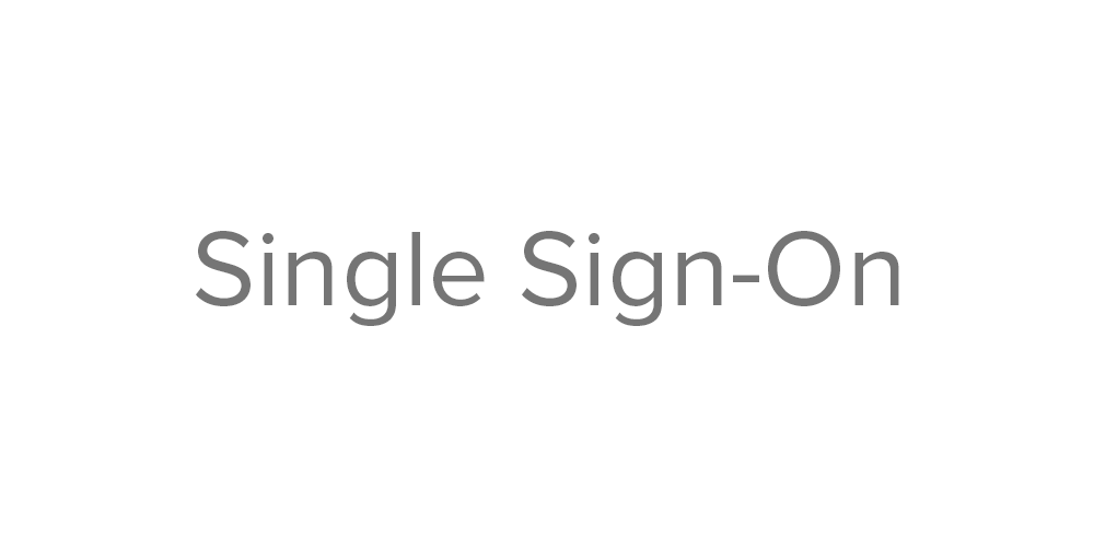 STM button 2 single sign on