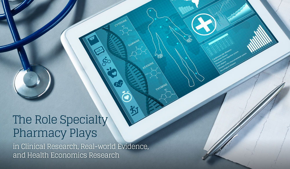 The Role Specialty Pharmacy Plays in Clinical Research, Real-world Evidence, and Health Economics Research blog-01