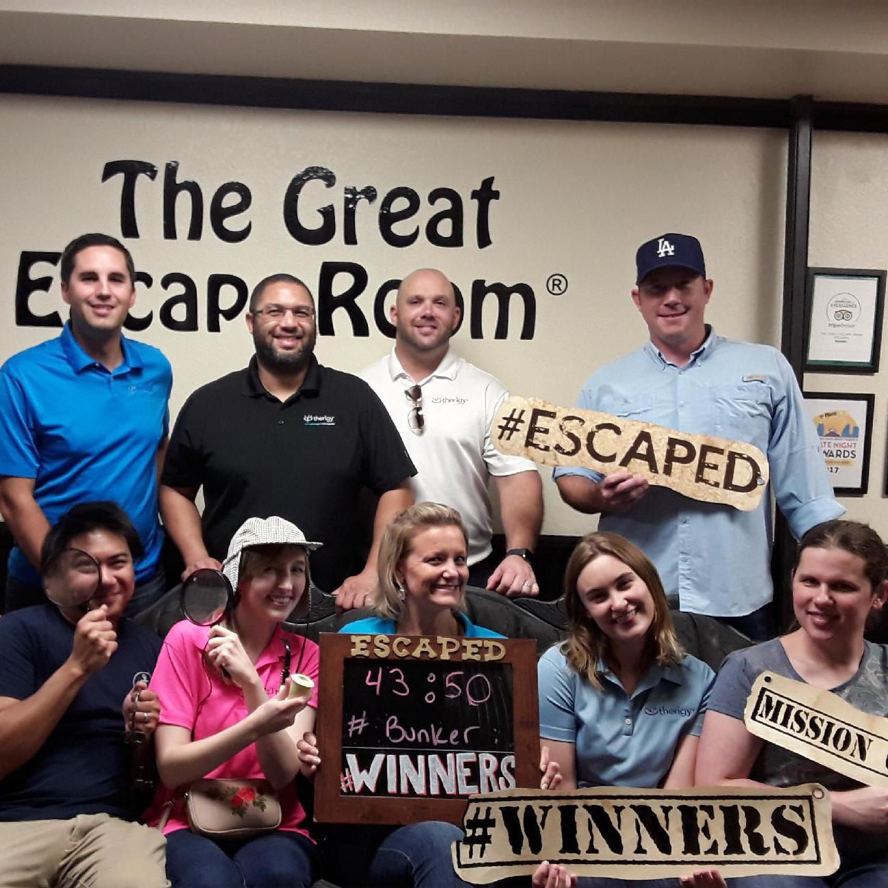 escape room winners